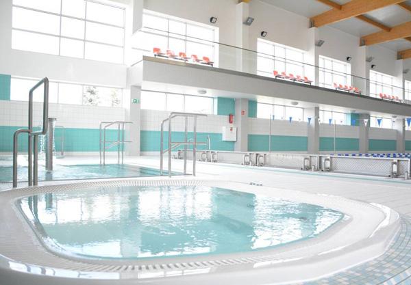 Aqua Centrum Chełmiec - jacuzzi i brodzik dla dzieci